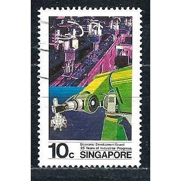 SINGAPORE 1986 - Used Sc. 487. CV $0.25