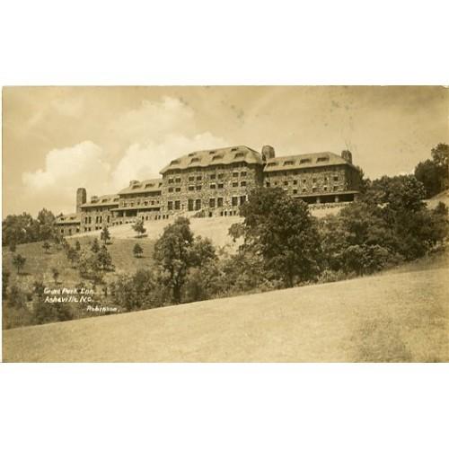 Photo Postcard. Grove Park Inn, Asheville, N.C., Robinson [photographer]