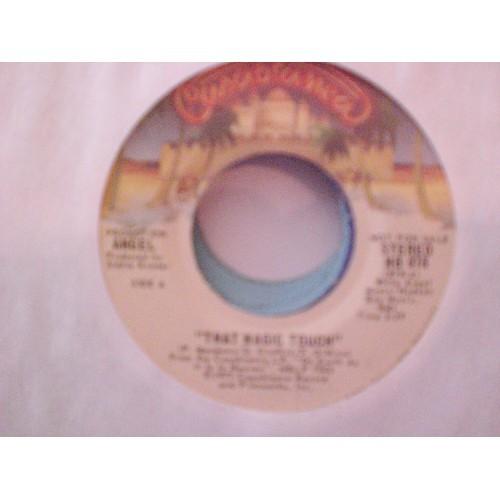 45 RPM: #964.. ANGEL - THAT MAGIC TOUCH (MONO & STEREO) CASABLANCA PROMO 878 ..