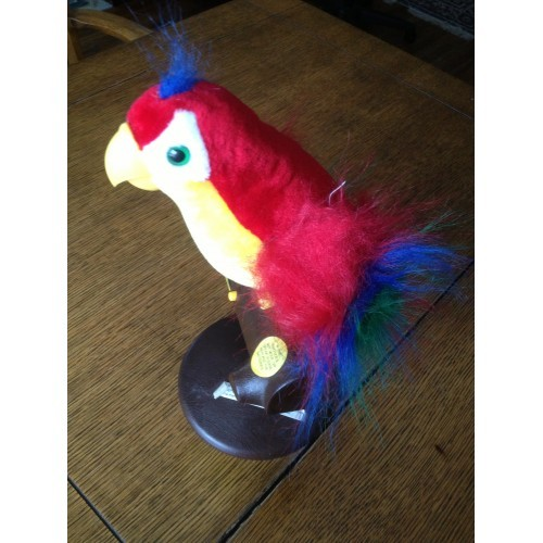 Pete the Repeat Talking Parrot Toy 1991