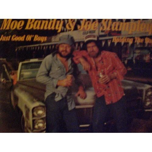 33 RPM:   #128 MOE BANDY & JOE STAMPLEY - JUST GOOD OL' BOYS & HOLDING THE BAG /