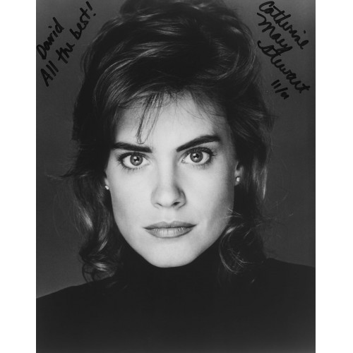 CATHERINE MARY STEWART AUTOGRAPHED PHOTO #2 NIGHT OF THE COMET WEEKEND AT BERNIE