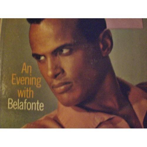 33 RPM: 186 1957 HARRY BELAFONTE - AN EVENING WITH BELAFONTE .... RCA VICTOR LPM