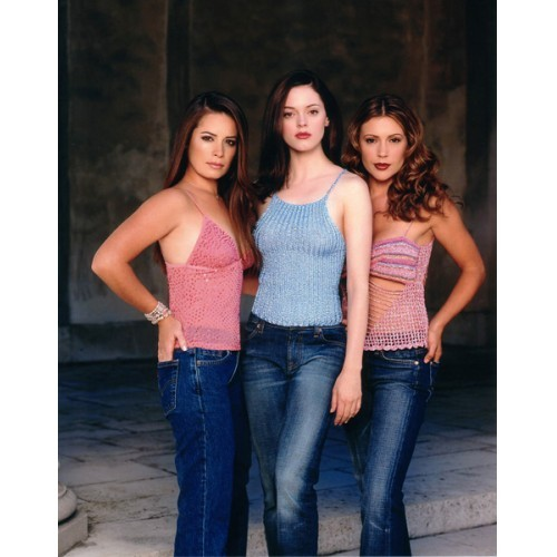 CHARMED CAST SEASON 4 8X10 PROMO PHOTO #24