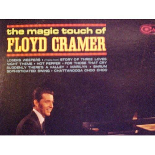 33 RPM: #522.. THE MAGIC TOUCH OF FLOYD CRAMER / RCA CAMDEN CAS 874 / VG+ ..