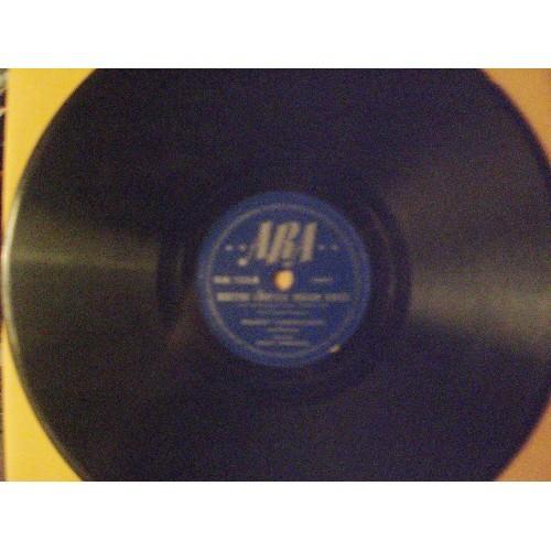 78 RPM: HOAGY CARMICHAEL - DOCTOR, LAWYER, INDIAN  & AM I BLUE / ARA 128 / VG ..