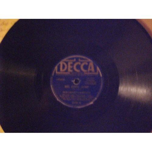 78 RPM: #301.. BOB CROSBY - BIG FOOT JUMP & FIVE POINT BLUES / DECCA 2108 .. VG+