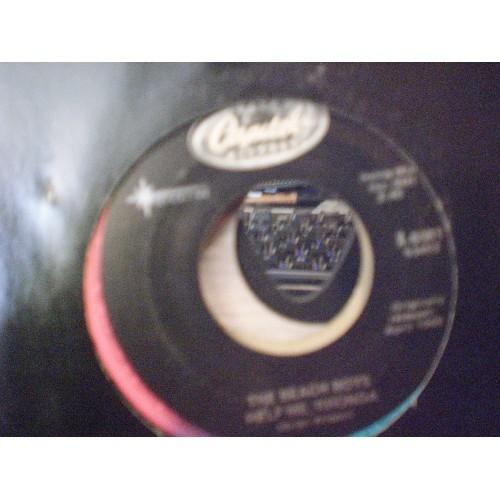 45 RPM: #1254.. THE BEACH BOYS - HELP ME, RHONDA & DO YOU WANNA DANCE / CAPITOL