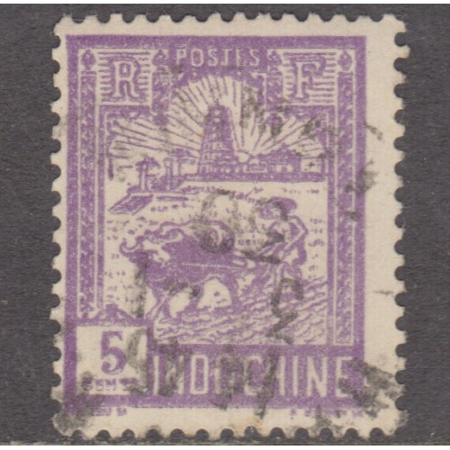 USED FRENCH INDOCHINA #123 (1927)