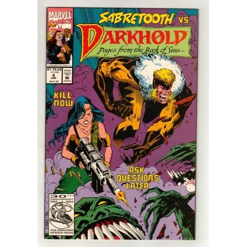 1992 DarkHold Comic # 4 - NM