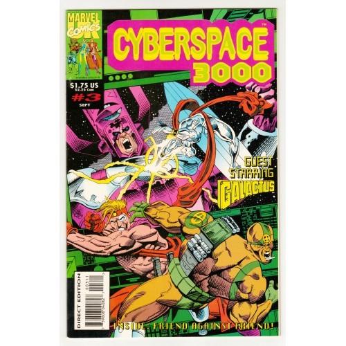 1993 Cyberspace 3000 Comic # 3 – NM