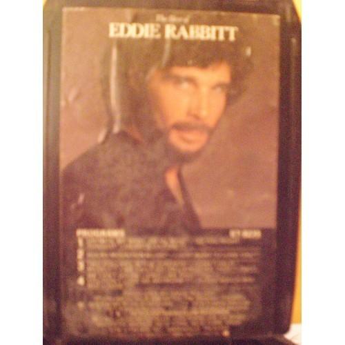 USED 8 TRACK: #673.. THE BEST OF EDDIE RABBITT / ELEKTRA 8235
