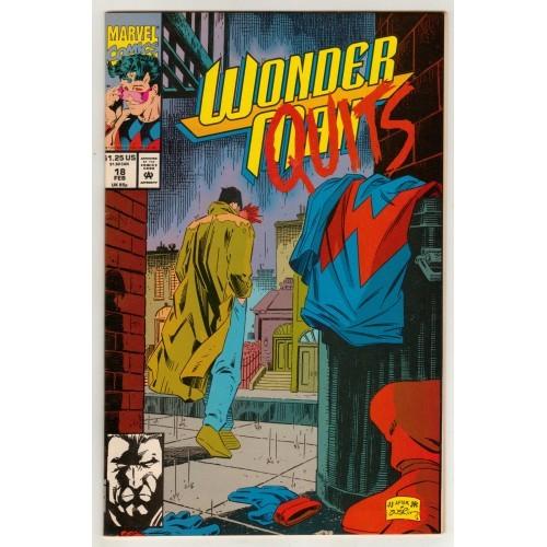 1993 Wonder Man Comic # 18 – FN+