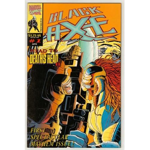 1993 Black Axe Comic # 1 – LN