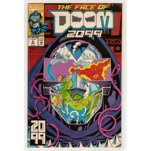 1993 Doom 2099 Comic # 6 – FN