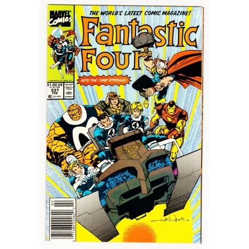 1990 Fantastic Four Comic # 337 – FN