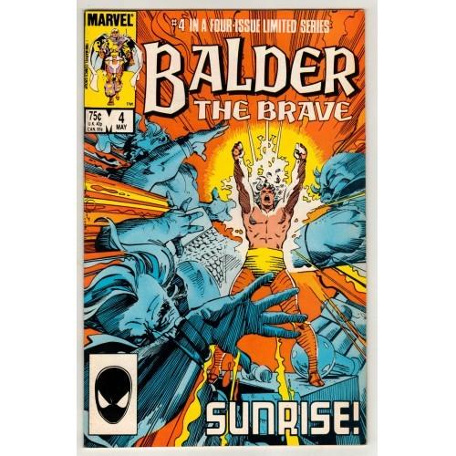 1986 Balder The Brave Comic # 4 – VF