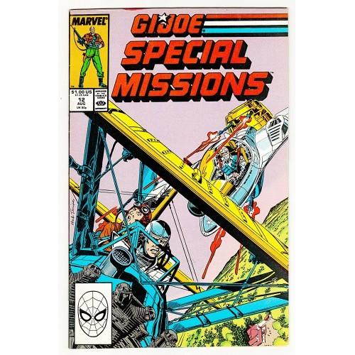 1988 G.I. Joe Special Missions Comic # 12 – VF