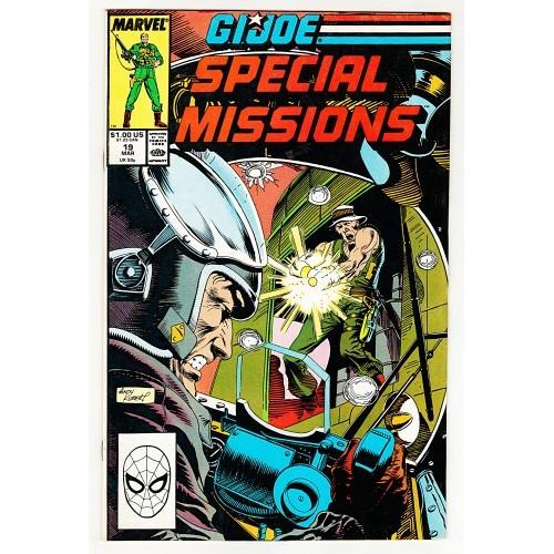 1989 G.I. Joe Special Missions Comic # 19 – GD+