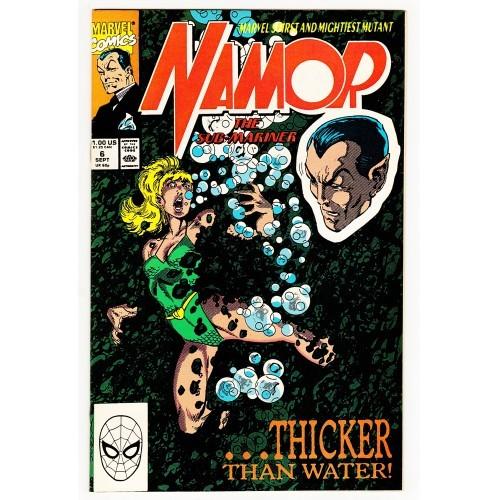 1990 Namor The Sub-Mariner Comic # 6 – VF+