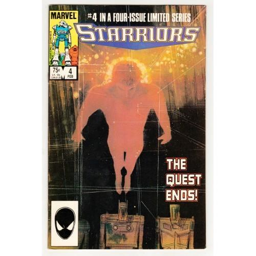 1985 Starriors Comic # 4 – NM