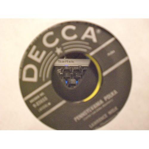 45 RPM: #22 LAWRENCE WELK - PENNSYLVANIA POLKA & BEER BARREL POLKA / DECCA 23855