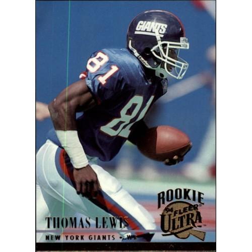 Thomas Lewis #465 - Giants - Fleer GOLD 1994 card *combine shipping @ 15¢