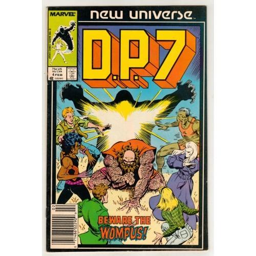 1987 D.P.7 Comic # 4 – VG+