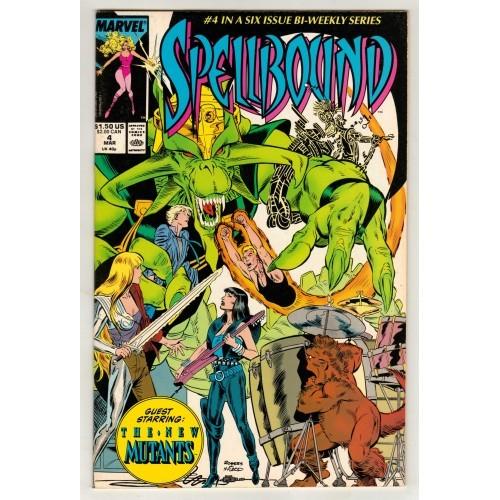 1988 SpellBound Comic # 4 – NM
