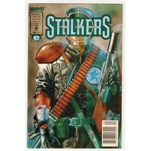 1990 Stalkers Comic # 1 – NM