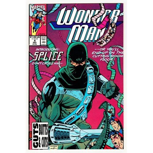 1991 Wonder Man Comic # 4 – VF+