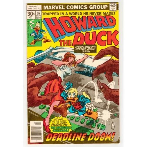 1977 Howard The Duck Comic # 16 – FN