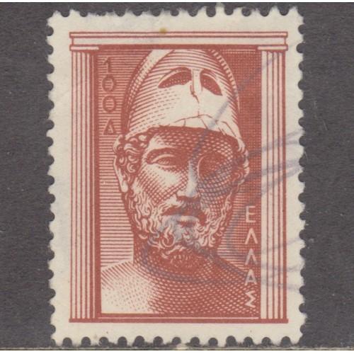 USED GREECE #556 (1954)