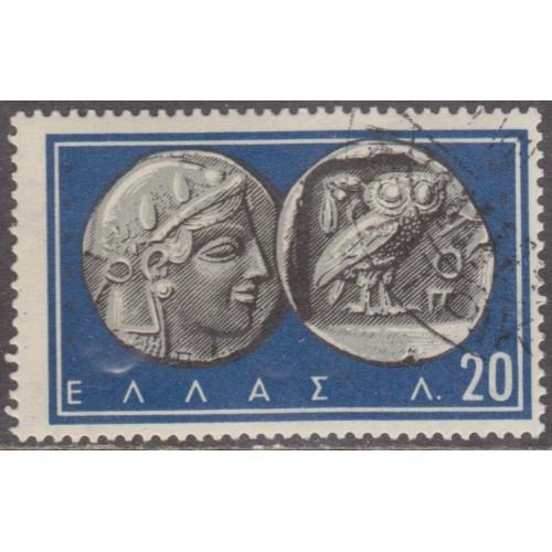 USED GREECE #640 (1959)