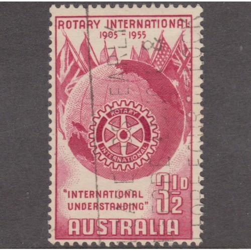 USED AUSTRALIA #278 (1955)