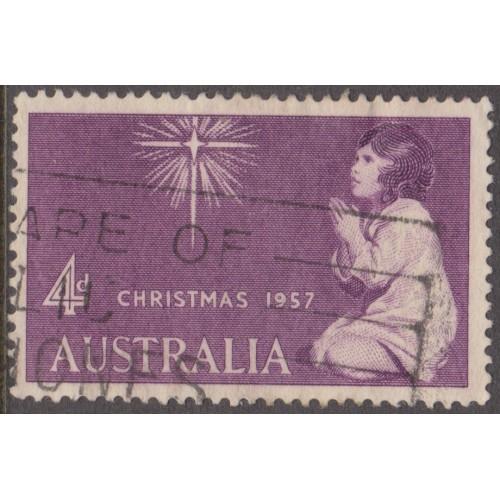 USED AUSTRALIA #307 (1957)