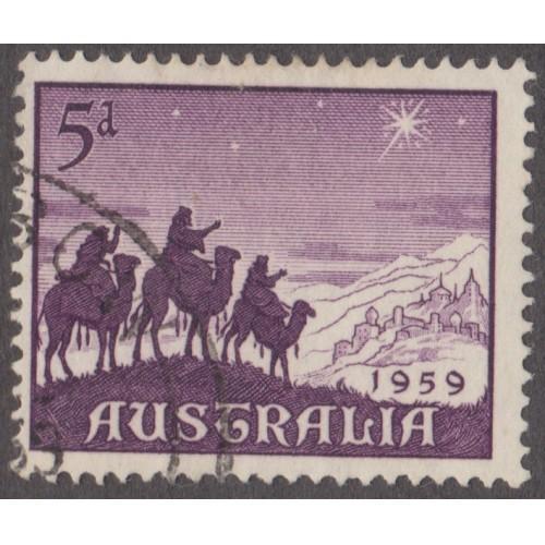 USED AUSTRALIA #334 (1959)