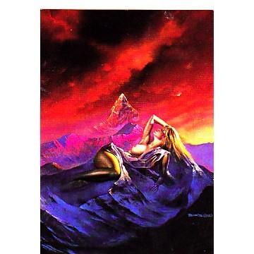 Aurora # 66 Boris 1992 fantasy art card