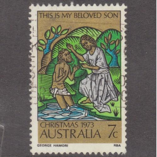 USED AUSTRALIA #582 (1973)