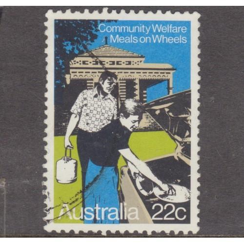 USED AUSTRALIA #749 (1980)