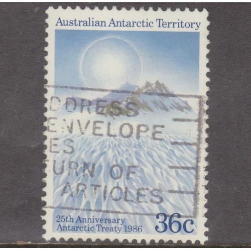 USED AUSTRALIAN ANTARCTIC TERRITORY #L75 (1986)