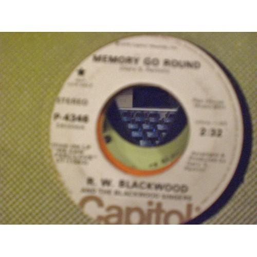 45 RPM: #1623.. R. W. BLACKWOOD - MEMORY GO ROUND (MONO & STEREO) CAPITOL PROMO
