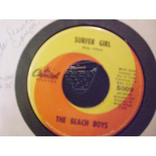 45 RPM: #1250.. THE BEACH BOYS - LITTLE DEUCE COUPE &  SURFER GIRL / CAPITOL