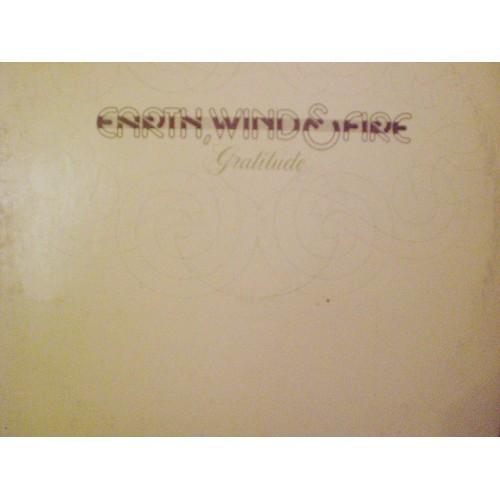 33 RPM: #592.. EARTH, WIND & FIRE - GRATITUDE / COLUMBIA PC 33694 / VG+ / 2 LP'S