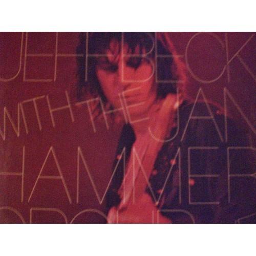 33 RPM: #167.. JEFF BECK W/ JAN HAMMER GROUP - LIVE / EPIC PE 34433 / VG+