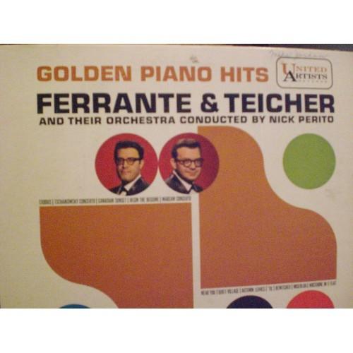 33 RPM: #653.. FERRANTE & TEICHER - GOLDEN PIANO HITS / UA WWR 3505 / VG/VG+