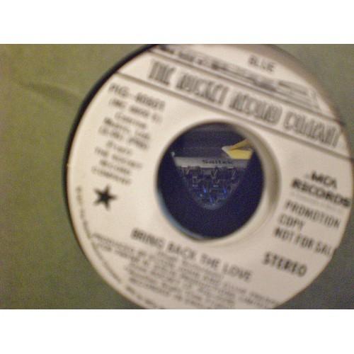 45 RPM: #1675.. BLUE - BRING BACK THE LOVE (PROMO SAME ON BOTH SIDES) MCA PIG