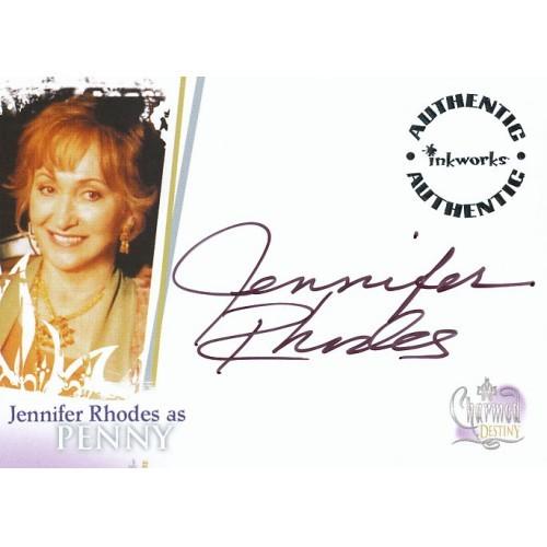 CHARMED DESTINY A-3 JENNIFER RHODES AUTOGRAPH CARD