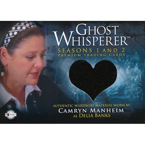 GHOST WHISPERER SEASONS 1&2 GC-17 DELIA'S TOP WARDROBE CARD