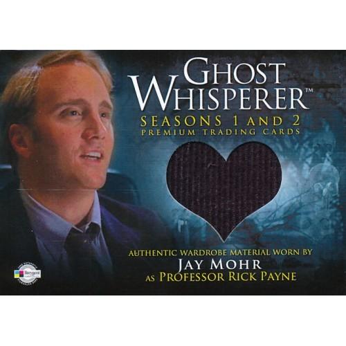 GHOST WHISPERER SEASONS 1&2 GC-19 RICK PAYNE'S SWEATER WARDROBE CARD